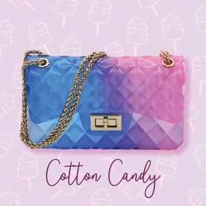 Bags - Cotton Candy Jelly Shoulder Bag